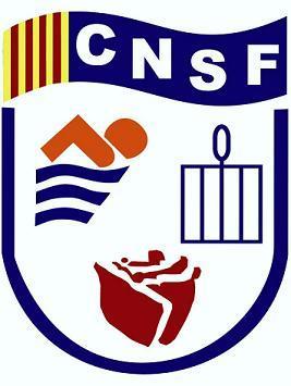 Logo del Club Natació Sant Feliu